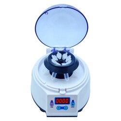 Mini laboratorio 4000rpm ~ 8000rpm eléctrico centrífuga médica de cosmetología máquina centrifugadora de sobremesa con temporizador