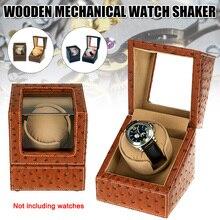 Watch Storage Organizer Display Casket Motor Shaker Holder Automatic Mechanical Watch Winder Box Winding Case Holder FS9