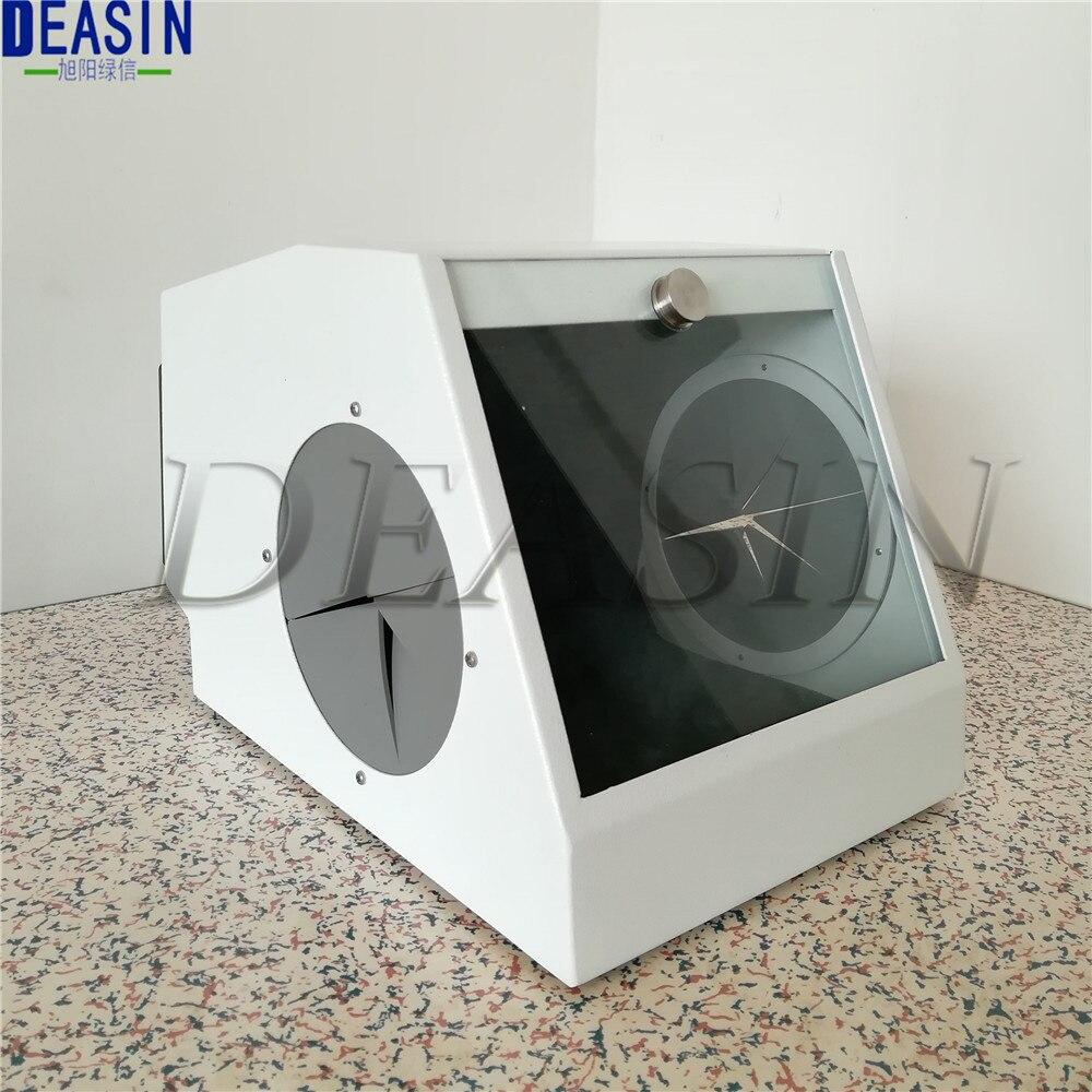 Good Quality Dental Grinding Polishing Box Lapping Protector Sandblasting Dust-proof Case Dental Sandblaster Dust Collector