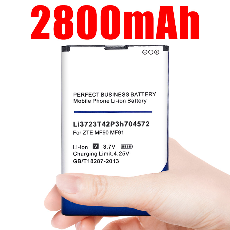 Li3723T42P3h704572 <font><b>Battery</b></font> For <font><b>ZTE</b></font> MF91 <font><b>MF90</b></font> 4G WIFI Router Modem Phone <font><b>Battery</b></font> image
