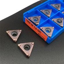 10 Pcs 16ER M 1.0 Iso FT1125 Hoge Kwaliteit Draad Draaigereedschappen Carbide Insert Draaibank Cutter Tool Tokarnyy Draaien InsertDraaigereedschap