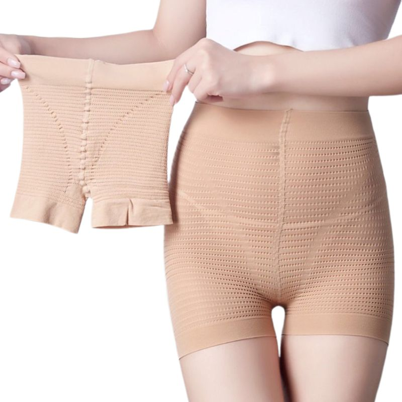 Women Sexy Mini Very Stretch Safety Pants Seamless Butt Lift Shapewear Underpants Solid Color High Waist Under Dress Slip Shorts