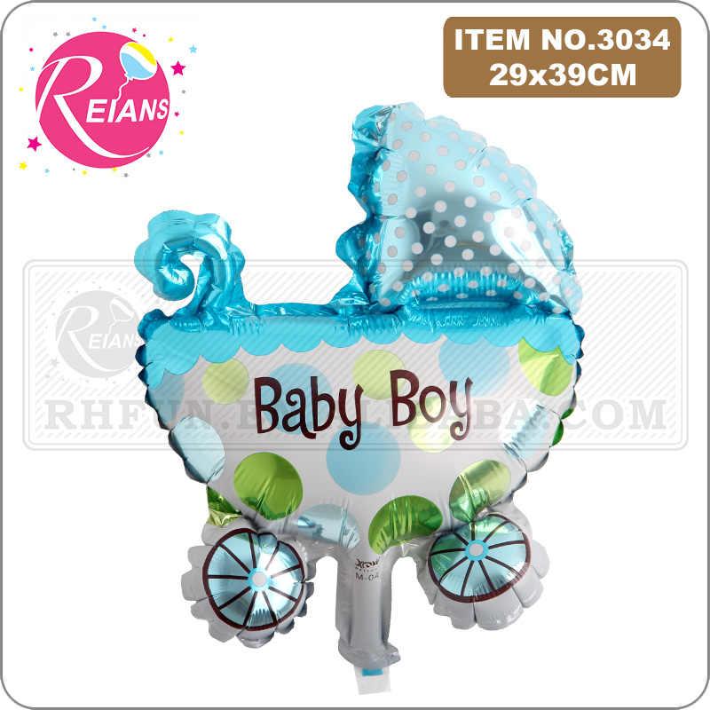 Chłopiec dziewczyna noworodki dekoracja urodzinowa Super dziecko, prysznic Baby Boy dziewczyna folia Trojan chrzciny baby Kids z balonów foliowych