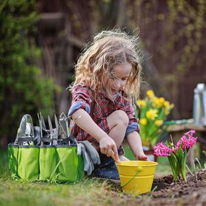 Image 5 - WORKPRO Vườn Túi Đựng Dụng Ngoài Trời Và Trong Nhà Cầm Tay Cho Sân Vườn Bộ Dụng Cụ Với 8 Oxford Túi