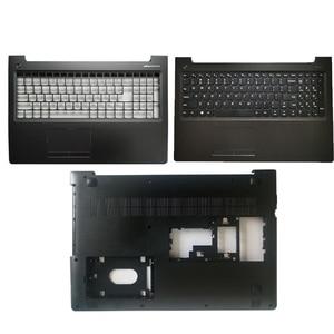 "Image 1 - חדש עבור Lenovo ideapad 310 15 310 15ISK 310 15ABR 510 15 510 15ISK 510 15IKB ארה""ב מקלדת/Palmrest כיסוי/קייס תחתון נייד"