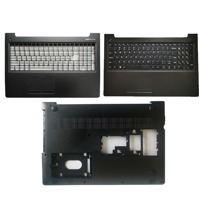 """חדש עבור Lenovo ideapad 310 15 310 15ISK 310 15ABR 510 15 510 15ISK 510 15IKB ארה""""ב מקלדת/Palmrest כיסוי/קייס תחתון נייד"""