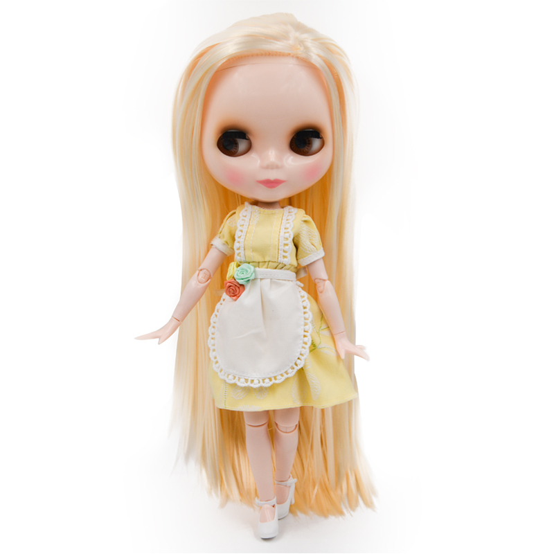 Factory Blyth BJD doll, Blyth Doll Nude Customized Shiny Face Dolls Can Chang Makeup and Dress DIY, 12 Inch Ball Jointed Doll 32