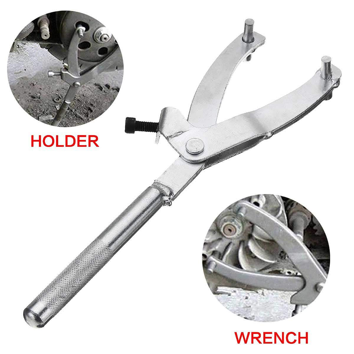 For Motorcycle Accessries Atv Scooter Spanner Wrench Variator Flywheel Clutch Holder Remover Puller Tool 28Cm