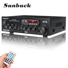 1200W 220V/110V Audio Eindversterker Bluetooth 2.0 Hifi Luidspreker 4 Microfoon Afstandsbediening Ondersteuning Fm usb Sd-kaart