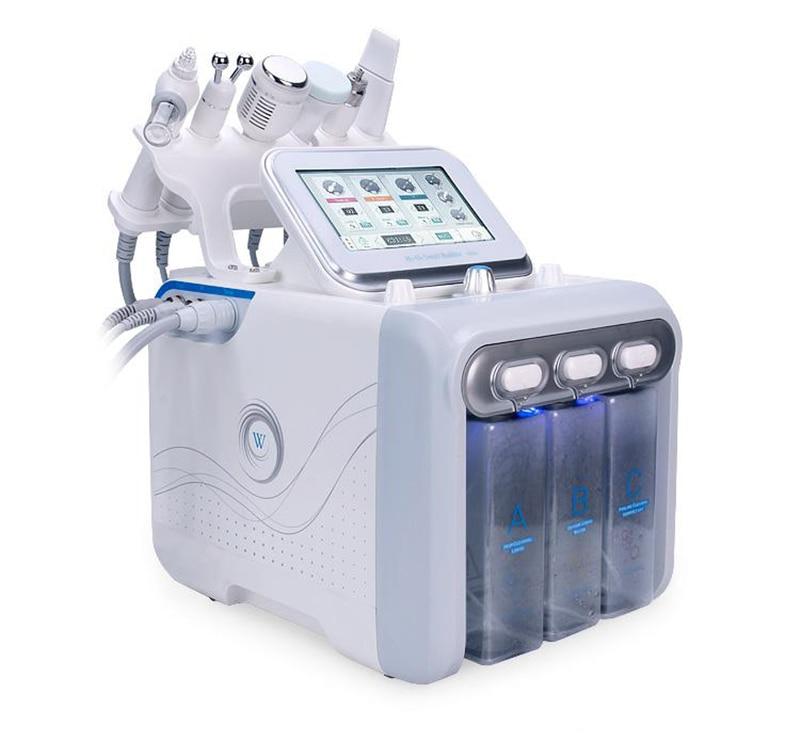 Multifunctional Facial Machine H2 O2 Water Peel Treatment BIO RF Face Care Ultrasonic Skin Scrubber Deep Cleaner Beauty Machine