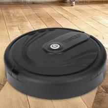 Nova inteligente automático varrendo robô casa piso borda poeira máquina de limpeza sem sucção vassoura