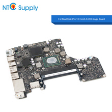 NTC Supply Motherboard For MacBook Pro 13.3 inch A1278 2012 Year 661-6588 820-3115-A/B Logic board 100% Tested Good Function