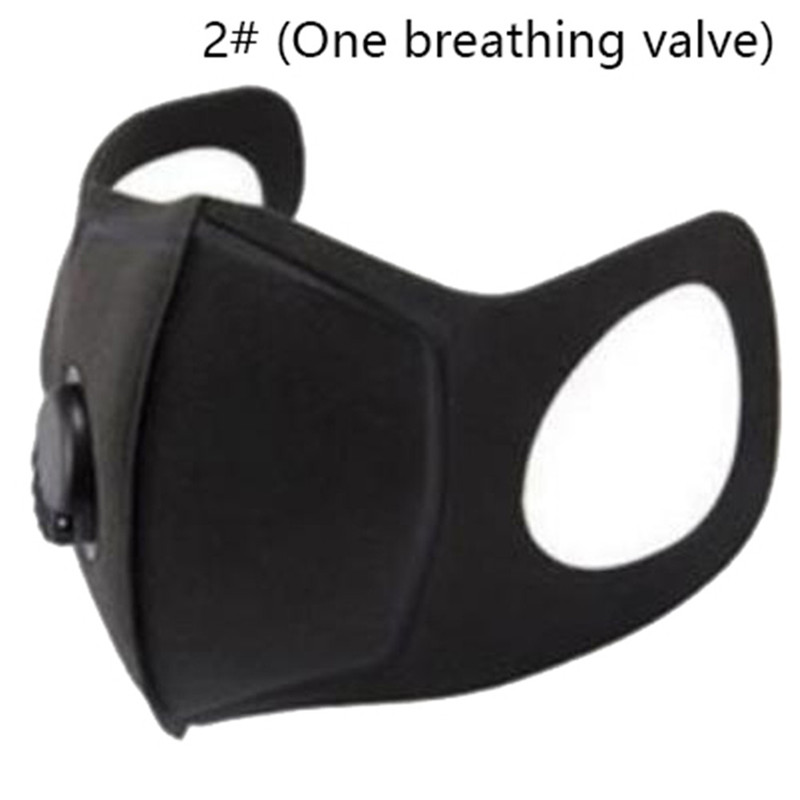 2# Pollution Mask Military Grade Anti Air Dust And Smoke Pollution Mask With Adjustable Straps And A Washable Respirator Mask