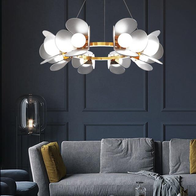 Nordique lustre personnalité coloré dessin animé chambre lampe moderne chambre denfants lampe garçon fille chambre lampe lustre éclairage