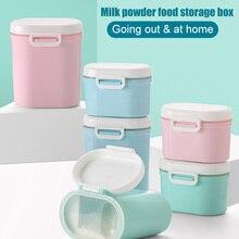 Высокое качество портативный детский молочный порошок коробка для хранения Диспенсер Герметичный пищевой контейнер для конфет