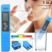 Tds-Meter AQUARIUM-FILTER Water-Purity 0-9990ppm LCD EC Digital
