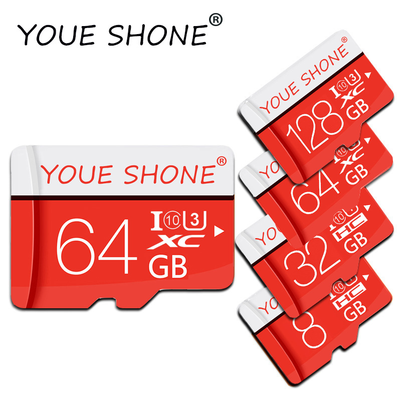 Micro SD Card 4gb/8GB/16GB/32GB/64GB/128GB Micro Sd Memory Card Carte Memoire 32gb C10 Mini TF Card Free SD Adapter