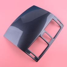Carbon Fiber Texture Zentrale Konsole Air Outlet Vent Abdeckung Trim Fit Für Toyota Corolla 2007 2008 2009 2010 2011 2012 2013
