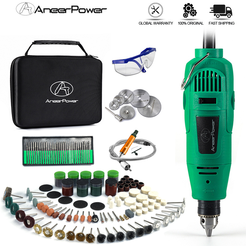 260W Style Mini DIY Electric Drill Engraver 5 Position Variable Speed For Dremel Drill Rotary Tools Mini DIY Cutting Grinder Etc