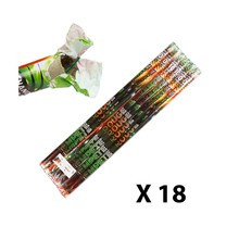 Lot 18 Spears Tempete balls red and green (Roman candle)-10 effects