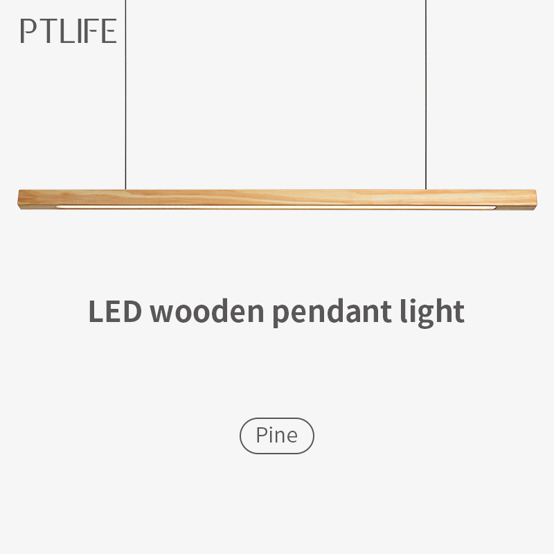 cheapest Led Pendant Lamp Dimmable Lights Kitchen Island Dining Room Shop Bar Counter Decoration Cylinder Pipe Hanging Lights