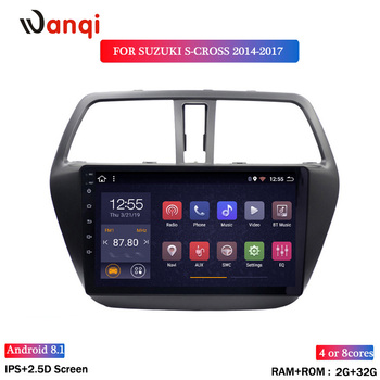 2G RAM 32G ROM Android 8.1 Car Multimedia Player for Suzuki S-CROSS 2014-2017 Car DVD GPS Navigation