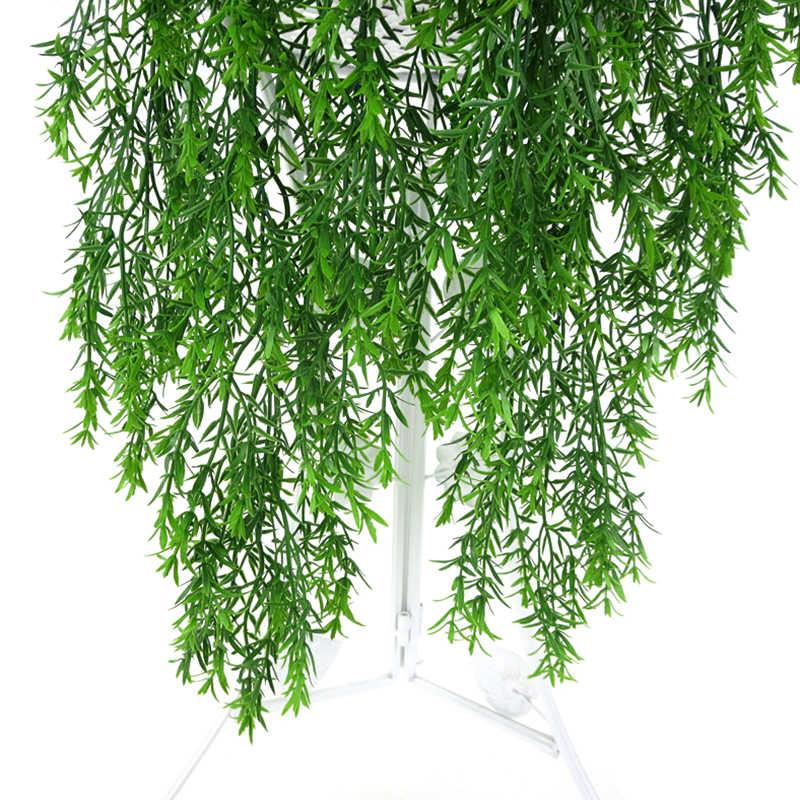 5 fourchettes artificiel plastique persan fougère arbre feuilles Simulation vert plante faux feuilles rotin maison jardin mur décoration 85cm