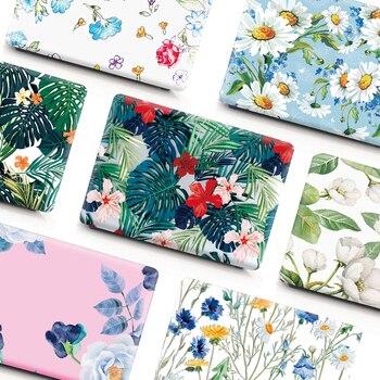 Hot For Macbook Pro 13 A1708 A1989 A1278 Floral Capa Para For Macbook Air Pro Retina 11 12 13 15 Polegada Case Para Touch Bar for new macbook air pro retina 11 12 13 15 for macbook pro 13 15 2017 2018 a1708 a1989 floral feather print laptop case cover