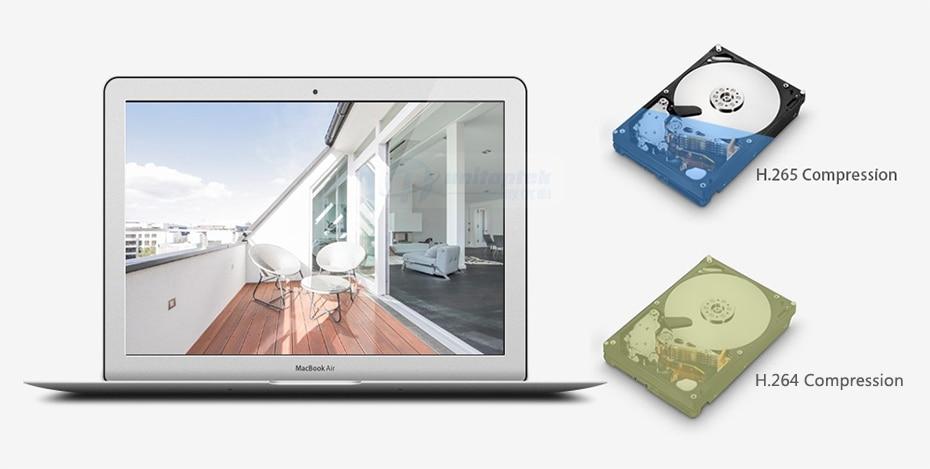 H8e0c1bd484154799a280429e03edde5aw 5MP POE IP Camera with Microphone, Audio, IP Security Dome Camera outdoor IP66 Indoor Outdoor ONVIF Compatible Hikvision