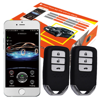 2020 year cardot 2g GPS GSM remote start engine smart passive keyless entry Car Alarm System