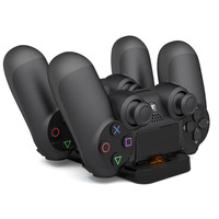 Basis Lade Unterstützung für Sony PS4 Spielen Station Playstation PS 4 Spielkonsole Batterie Ladegerät Dock Hand Control Controller Stand