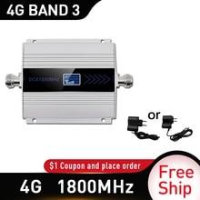4g 신호 부스터 gsm 1800mhz LTE GSM 모바일 신호 부스터 리피터 DCS 1800Mhz 핸드폰 셀룰러 1800 GSM 휴대 전화 러시아