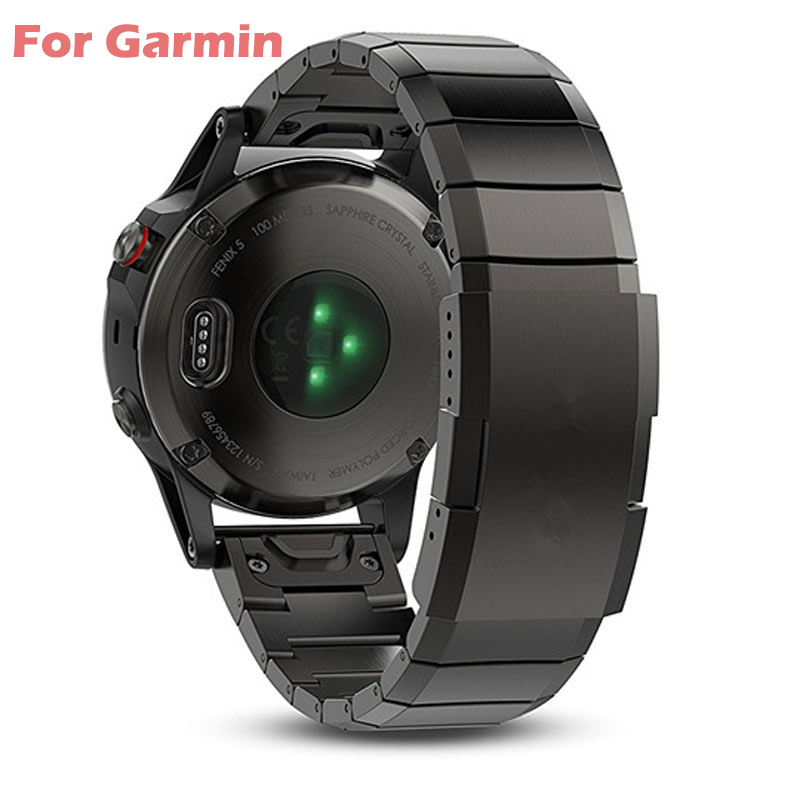 26 22 20mm Watchband For Garmin Fenix 6 6X Pro 5 5X Plus 3HR Silicone Band Fenix6 Fenix5 Watch Quick Release Easyfit Wrist Strap