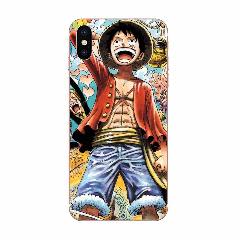 TPU nueva moda Luffy Correa pirata para Xiaomi Red mi 4 7A 9T K20 CC9 CC9e Note 7 9 Y3 SE Pro primer ir a jugar