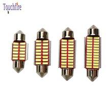 100Pcs C5W Festoon 31 36 39 41mm LED Canbus Car Bulb License Plate Door Light Dome Reading Interior Light Auto Lamp Wholesale