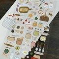 Декоративные Канцтовары для дома «Я люблю хлеб», Стикеры для скрапбукинга, «сделай сам», дневника, альбома, стикеры в Корейском стиле