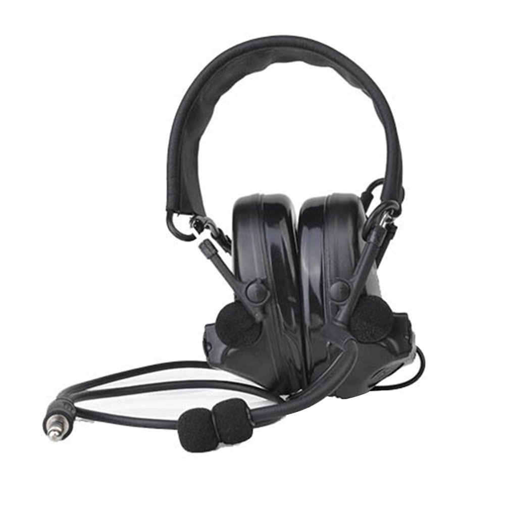 Headphones Walkie-Talkie Tactical Communication Walkie-Talkie Pick-Up Noise-Reduction Headphones Walkie-Talkie Z041