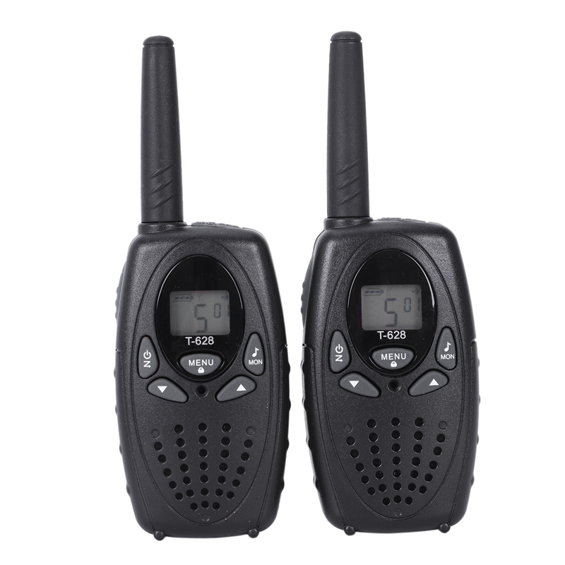 1set 2 × T628 Kids Walkie Talkie 22 Channel Child Toy For UHF FRS 2 Way Radio SS