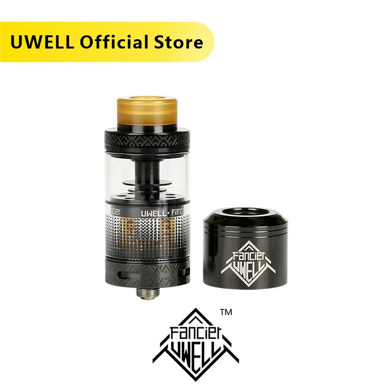 In Stock!!! UWELL FANCIER Atomizer 4ml Tank RTA & RDA 6 Colors Electronic Cigarette Plug-pull Coils Vape Tank