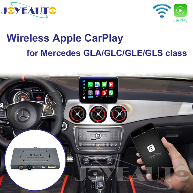 Joyeauto אלחוטי Carplay אנדרואיד אוטומטי עבור מרצדס GLS NTG5 Retrofit תמיכה אחורי מצלמה דינמי הנחיות רכב לשחק מתאם