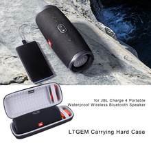 LTGEM Waterproof EVA Hard Case for JBL Charge 4 Portable Waterproof Wireless Bluetooth Speaker(China)
