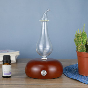 Wooden Glass Aromatherapy Pure