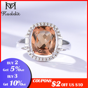 Image 2 - Kuololit Zultanite Gemstone Rings for Women Solid 925 Sterling Silver Color Change Diaspore Sultanite Bride Gifts Fine Jewelry