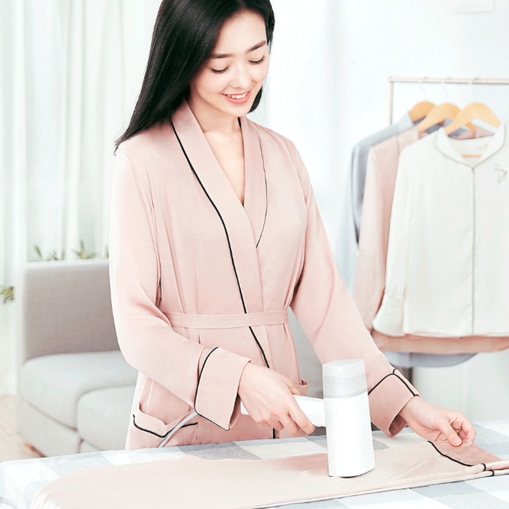 Image 4 - Xiaomi Mijia Zanjia Garment Steamer Iron Portable Handheld Garment Ironing Appliances Mini Electric Clothes Cleaner 220V-in Garment Steamers from Home Appliances