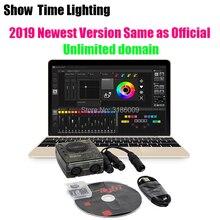 Newest Version Powerful Daslight DVC4 DMX Software stage light controller computer control DJ Stage Light USB Lighting Interface цена 2017