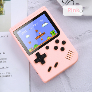 5Colors Portable FC Game Mini TV Retro Game Console Handheld Game Player 3.0 Inch 500 Games IN 1 Pocket Game Console Accessories