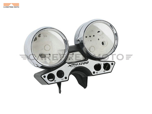 Image 2 - Chrome Motorcycle Speedometer Cover Moto Speed Gauge Shell Case for Yamaha XJR1200 XJR 1200 1993 1998