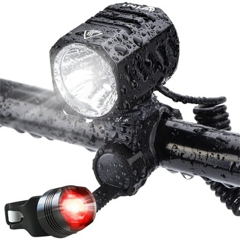 1200LM XM-L2 LED Bicycle Light Waterproof Bike Headlight Indicator Light Zoomable Cycling Lamp With USB Rechargeable Battery original nitecore br35 bike light 1800 lumens cree xm l2 u2 led rechargeable bike bicycle front light built in 6800mah battery