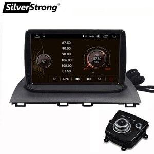 Image 2 - SilverStrong 9 cal Android10.0 Radio samochodowe z gps em dla nowego Mazda3 mazda 3 Axela Radio samochodowe nawigacja wsparcie TPMS