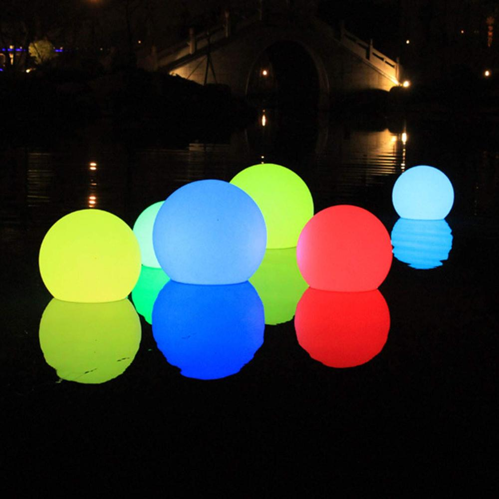 Remote Control LED Garden Decoration Lights Ball Outdoor Waterproof Lawn Lamps Wedding Party Holiday Home Bar Lighting